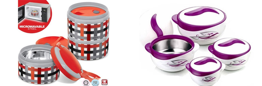 Insulated Tiffins ( Lunch Box) / Insulated Servers