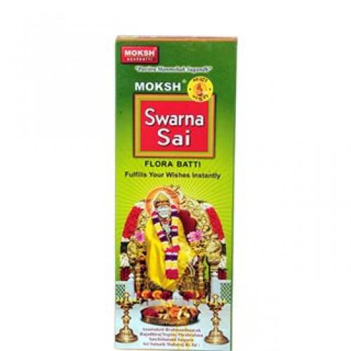 Moksh Swarna Sai Flora Incense Sticks 1 Pack Uk Popat