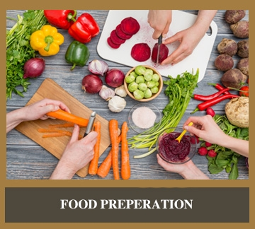 Shop For Food Preparation