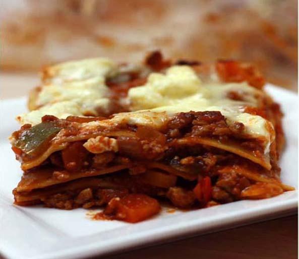 Vegetarian Quorn Lasagne